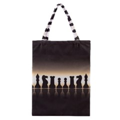 Chess Pieces Classic Tote Bag by Valentinaart