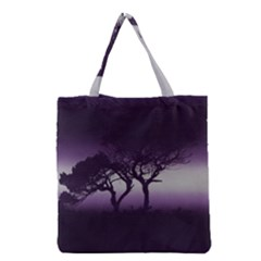 Sunset Grocery Tote Bag by Valentinaart
