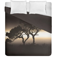 Sunset Duvet Cover Double Side (california King Size) by Valentinaart