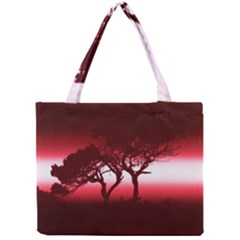 Sunset Mini Tote Bag by Valentinaart