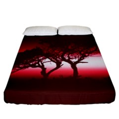 Sunset Fitted Sheet (california King Size)