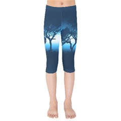 Sunset Kids  Capri Leggings