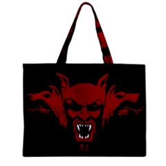 Dracula Zipper Mini Tote Bag by Valentinaart