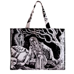 Vampire  Zipper Mini Tote Bag by Valentinaart