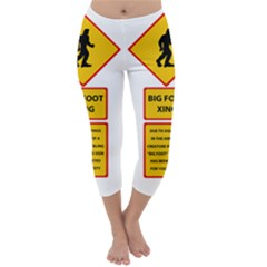 Bigfoot Capri Winter Leggings
