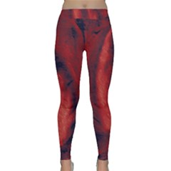 Blood Waterfall Classic Yoga Leggings