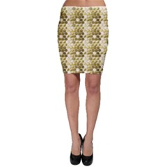 Cleopatras Gold Bodycon Skirt