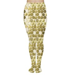 Cleopatras Gold Women s Tights by psweetsdesign