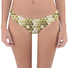 Cleopatras Gold Reversible Hipster Bikini Bottoms by psweetsdesign