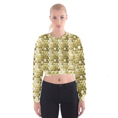 Cleopatras Gold Cropped Sweatshirt by psweetsdesign