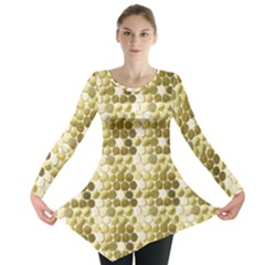 Cleopatras Gold Long Sleeve Tunic