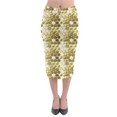 Cleopatras Gold Midi Pencil Skirt by psweetsdesign