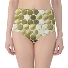Cleopatras Gold High Waist Bikini Bottoms by psweetsdesign