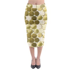Rbsmallgoldcoins Midi Pencil Skirt by psweetsdesign