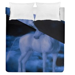 Magical Unicorn Duvet Cover Double Side (queen Size) by KAllan