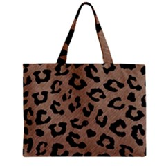 Skin5 Black Marble & Brown Colored Pencil Zipper Mini Tote Bag by trendistuff