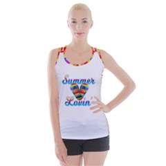 Summer Lovin    Rainbow Accent   White by tonitails