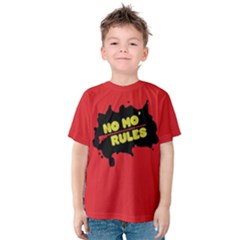 No Mo Rules Kids  Cotton Tee by NoctemClothing
