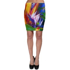 Palms02 Bodycon Skirt by psweetsdesign