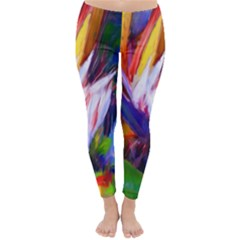 Palms02 Classic Winter Leggings by psweetsdesign