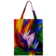 Palms02 Zipper Classic Tote Bag