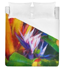 Palms02 Duvet Cover (queen Size) by psweetsdesign