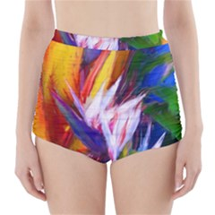Palms02 High Waisted Bikini Bottoms by psweetsdesign