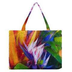 Palms02 Medium Zipper Tote Bag by psweetsdesign