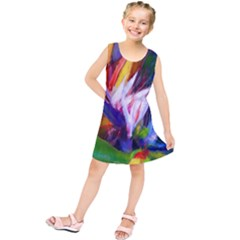 Palms02 Kids  Tunic Dress by psweetsdesign