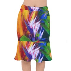 Palms02 Mermaid Skirt by psweetsdesign
