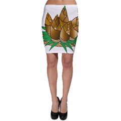 Young Bamboo Bodycon Skirt by Mariart