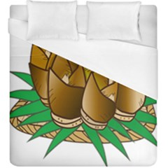 Young Bamboo Duvet Cover (king Size) by Mariart