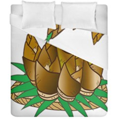 Young Bamboo Duvet Cover Double Side (california King Size) by Mariart