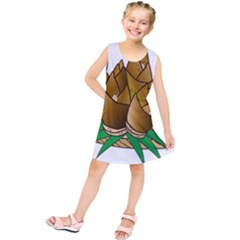 Young Bamboo Kids  Tunic Dress by Mariart