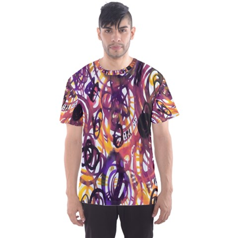 Autumnn Rainbow Men s Sports Mesh Tee by Mariart
