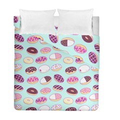 Donut Jelly Bread Sweet Duvet Cover Double Side (full/ Double Size) by Mariart