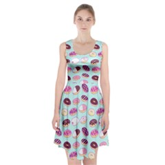 Donut Jelly Bread Sweet Racerback Midi Dress