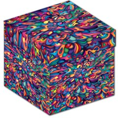 Moreau Rainbow Paint Storage Stool 12   by Mariart