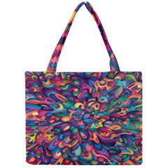 Moreau Rainbow Paint Mini Tote Bag by Mariart