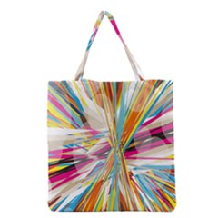 Illustration Material Collection Line Rainbow Polkadot Polka Grocery Tote Bag