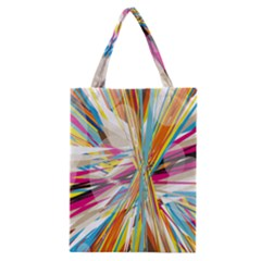 Illustration Material Collection Line Rainbow Polkadot Polka Classic Tote Bag