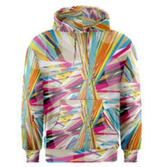 Illustration Material Collection Line Rainbow Polkadot Polka Men s Pullover Hoodie