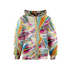 Illustration Material Collection Line Rainbow Polkadot Polka Kids  Pullover Hoodie