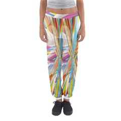 Illustration Material Collection Line Rainbow Polkadot Polka Women s Jogger Sweatpants