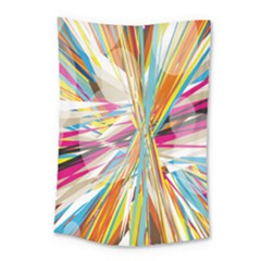 Illustration Material Collection Line Rainbow Polkadot Polka Small Tapestry