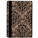 DAMASK1 BLACK MARBLE & BROWN COLORED PENCIL (R) Apple iPad Pro 9.7   Flip Case View4