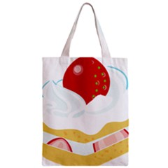Seeds Strawberry Bread Fruite Red Classic Tote Bag by Mariart