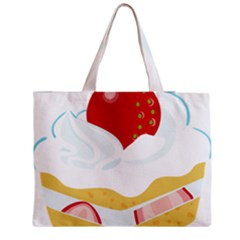Seeds Strawberry Bread Fruite Red Medium Tote Bag by Mariart