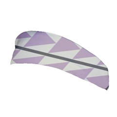 Shapes Patchwork Circle Triangle Stretchable Headband by Mariart