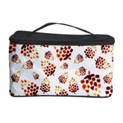 Pine Cones Pattern Cosmetic Storage Case by Mariart